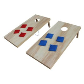 """Triumph Sports """"Woodie"""" Masters Plywood Bean-Bag Toss Set"""