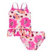 Toddler Girl OshKosh B'gosh® Pink Floral Tankini Top & Bottoms Swimsuit Set