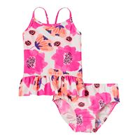 Toddler Girl OshKosh B'gosh® Pink Floral Tankini Top & Bottoms Swimsuit Set