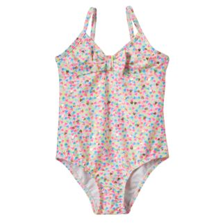 Toddler Girl OshKosh B'gosh® Foiled Heart One-Piece Swimsuit