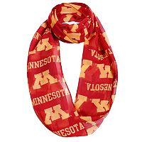 Women's Forever Collectibles Minnesota Golden Gophers Logo Infinity Scarf