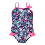 Toddler Girl OshKosh B'gosh® Tropical Forest Print One-Piece Swimsuit
