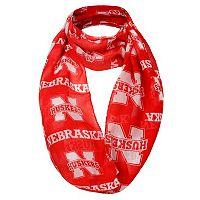 Women's Forever Collectibles Nebraska Cornhuskers Logo Infinity Scarf