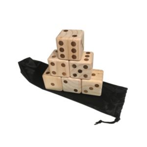 Triumph Sports Wooden Lawn Dice