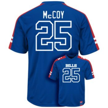 Men's Majestic Buffalo Bills LeSean McCoy Hashmark Player Top