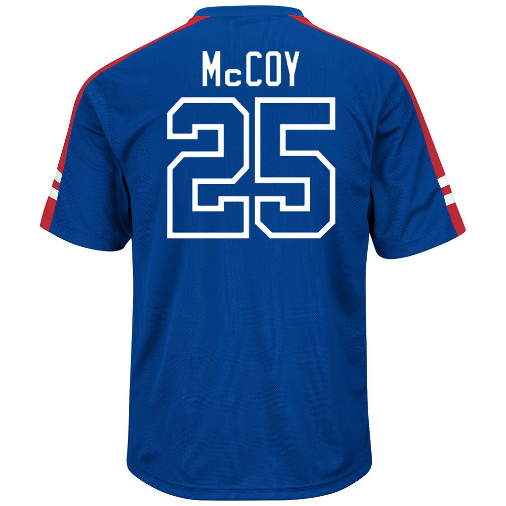 Men's Majestic Buffalo Bills LeSean McCoy Hashmark Player Top