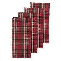 Lenox Holiday Nouveau Plaid Napkin 4-pk.