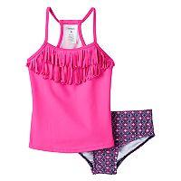 Girls 4-6x Carter's Fringe Tankini Swimsuit Set