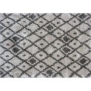 KAS Rugs Delano Elements Lattice Shag Rug