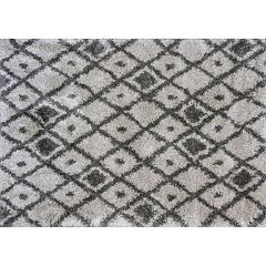 KAS Rugs Delano Elements Lattice Shag Rug
