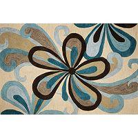 KAS Rugs Milan Groove Floral Rug