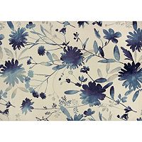 KAS Rugs Reflections Watercolors Floral Rug