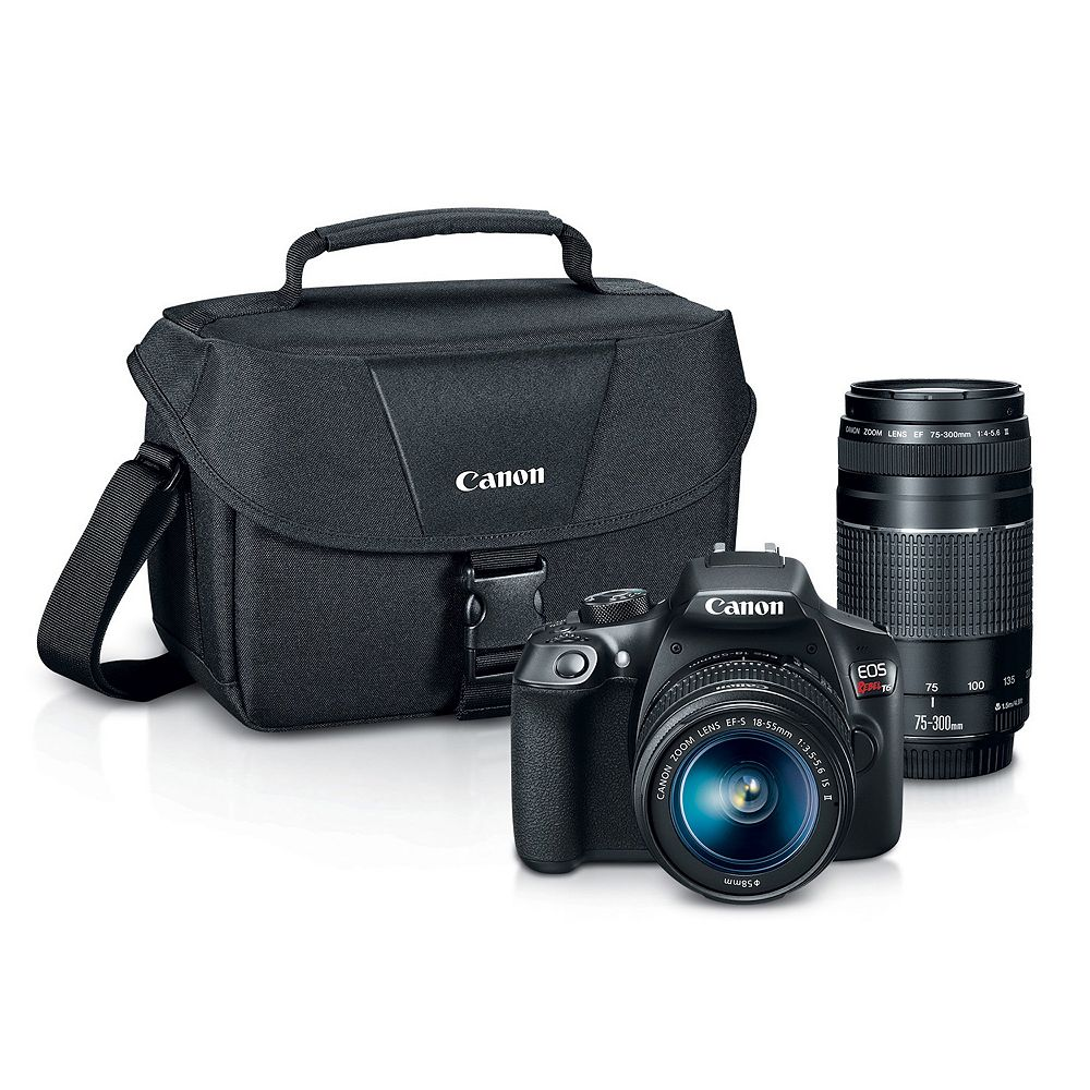 EOS REBEL T6 DSLR Camera Zoom Kit