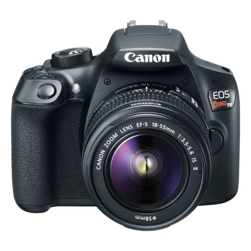 Canon EOS REBEL T6 DSLR Camera Zoom Kit