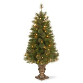 National Tree Company 4 ft. Artificial Atlanta Spruce Entrance Christmas Tree