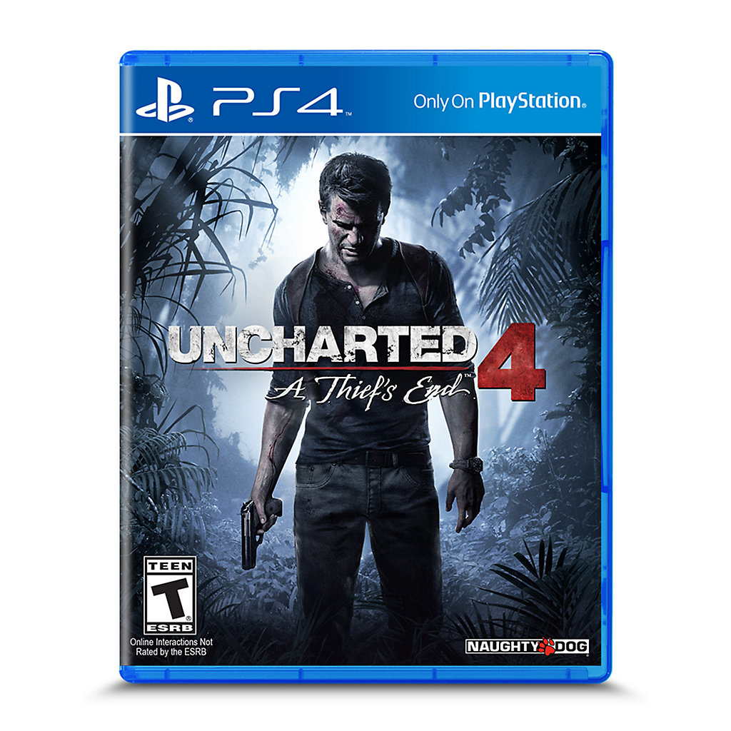 PlayStation 4 Slim 500GB Uncharted 4: A Thief's End PS4 Bundle