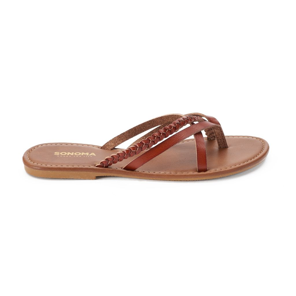 SONOMA Goods for Life™ Woman's Braided Thong Sandals