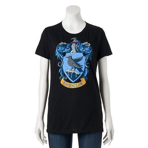 02f78686 Juniors' Harry Potter Ravenclaw Crest Graphic Tee
