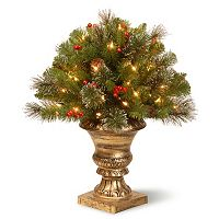 National Tree Company 24 in. Artificial Crestwood Spruce Bush Plant