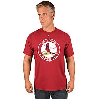 Men's Majestic St. Louis Cardinals Cooperstown Official Logo Tee