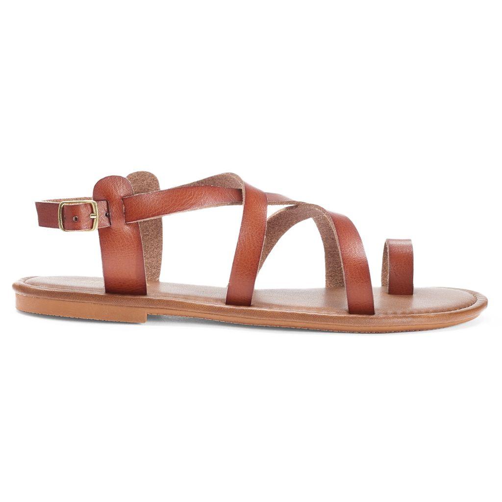 SONOMA Goods for Life™ Women's Crisscross Strap Sandals
