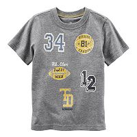 Toddler Boy Carter's Athletic Applique Patch Tee