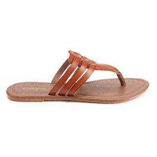 SONOMA Goods for Life™ Woman's Huarache Thong Sandals
