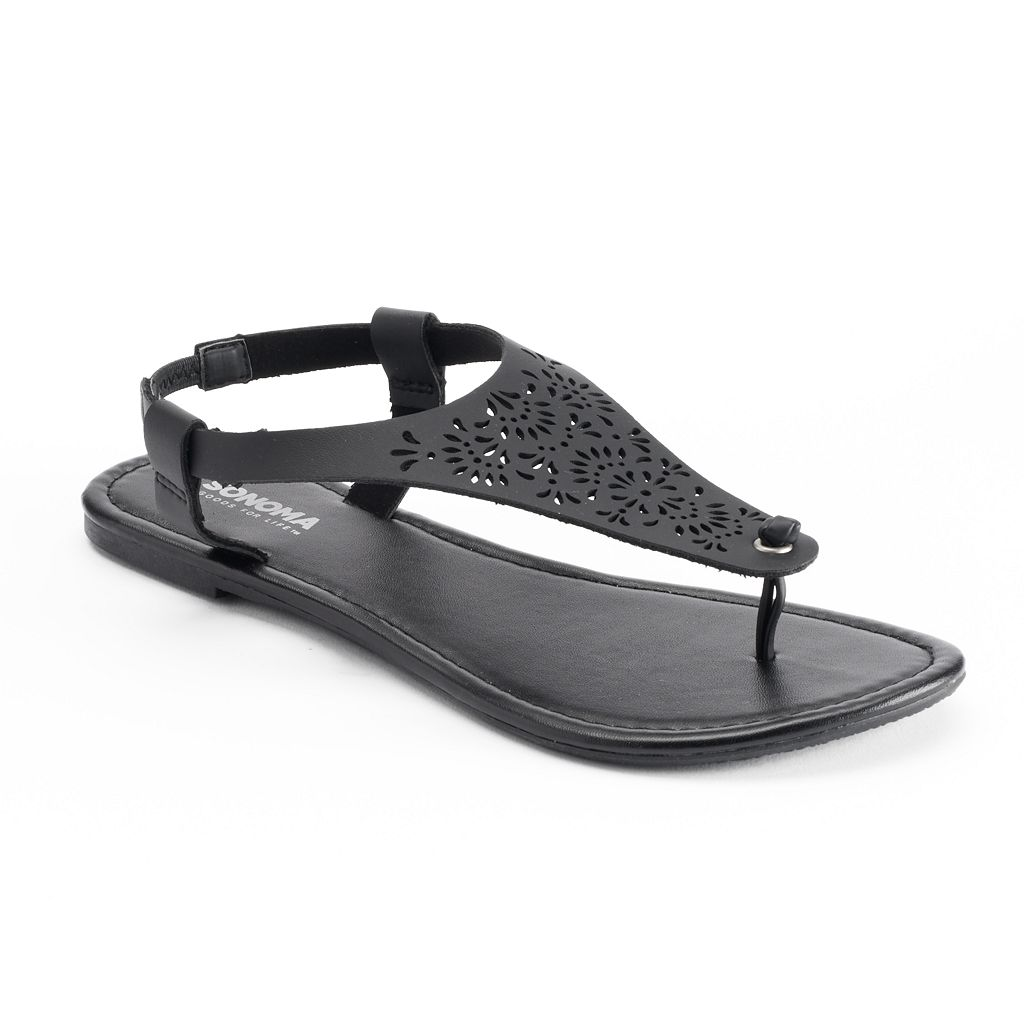 SONOMA Goods for Life™ Woman's Perforated Thong Sandals