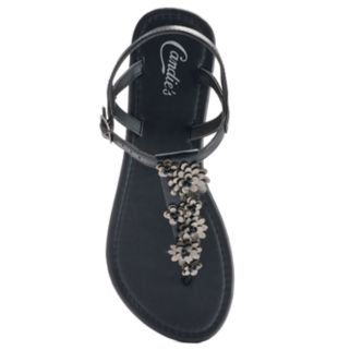 Candie's® Women's Beaded Floral Flip-Flops