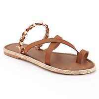 SONOMA Goods for Life™ Crisscross Braided Espadrille Sandals