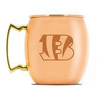 Cincinnati Bengals Copper Moscow Mule Mug