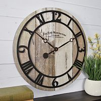 FirsTime Barnwood Wall Clock