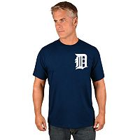Men's Majestic Detroit Tigers Wordmark Tee