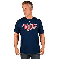 Men's Majestic Minnesota Twins Wordmark Tee