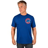 Men's Majestic Chicago Cubs Wordmark Tee