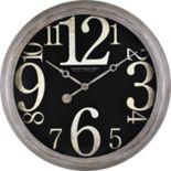 FirsTime Weathered Tilt Wall Clock