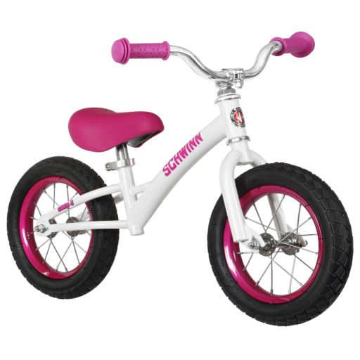 Girls Schwinn 12-Inch Skip 3 Balance Bike