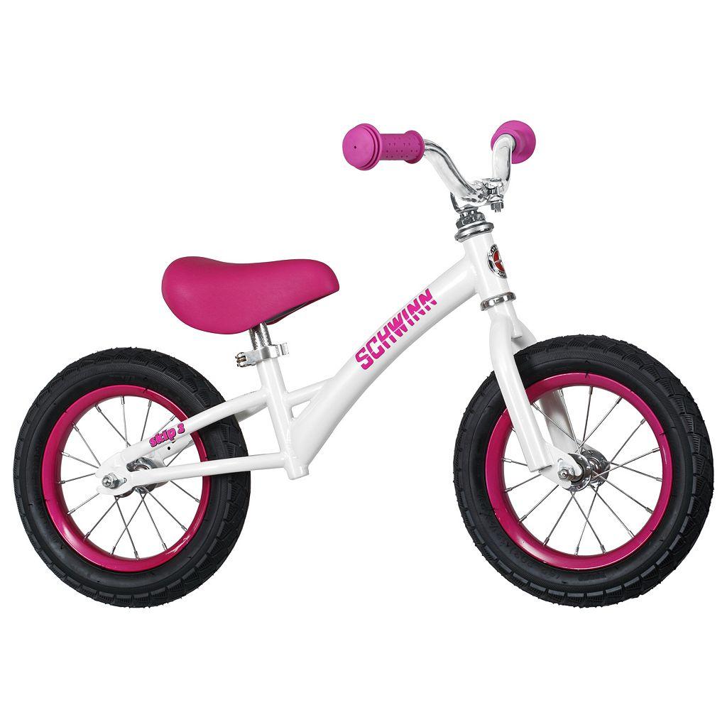 Girls Schwinn 12-Inch Skip 3 Balance Bike