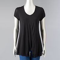 Women's Simply Vera Vera Wang Simply Separates Split-Front Tee