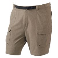 Big & Tall Croft & Barrow® Classic-Fit Belted Performance Cargo Shorts