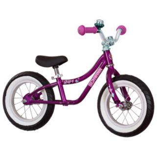 Girls Schwinn 12-Inch Skip 4 Balance Bike