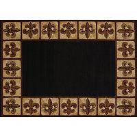 United Weavers China Garden Patchwork Fleur de Lis Rug