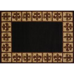 United Weavers China Garden Fleur de Lys Rug