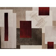 United Weavers China Garden Contempo Geometric Rug