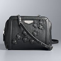 Simply Vera Vera Wang Midnight Crossbody Bag