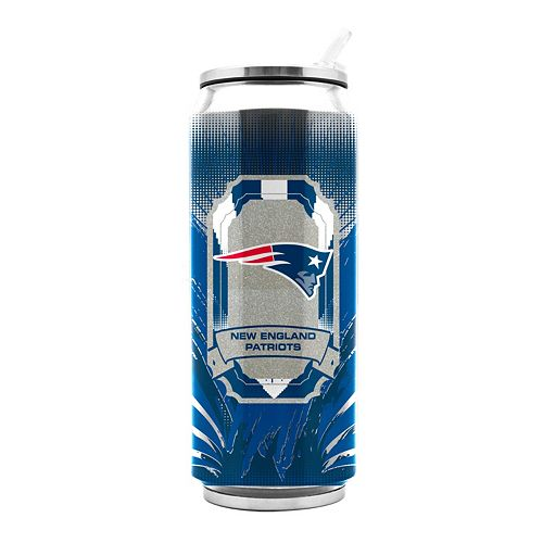 New EnglandPatriots Thermos Can Tumbler