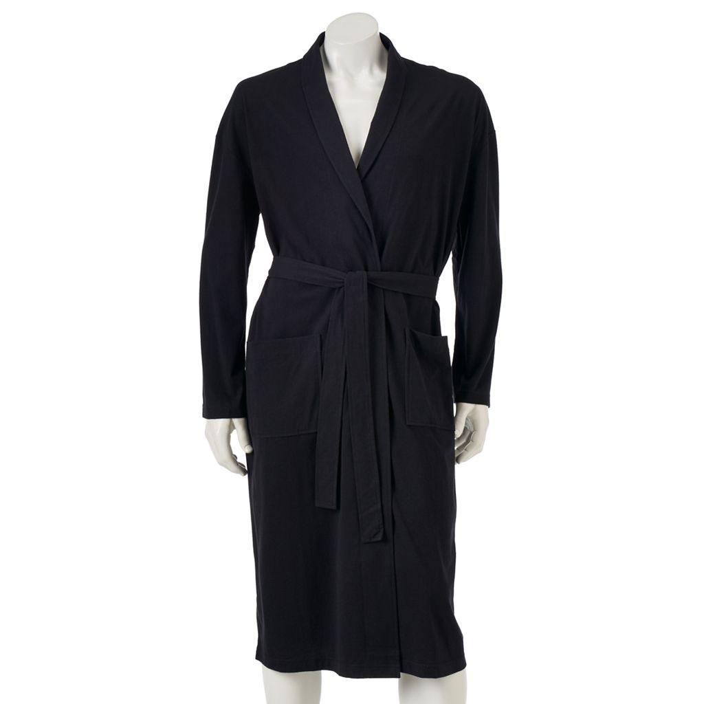Men's Croft & Barrow® True Comfort Lightweight Knit Robe