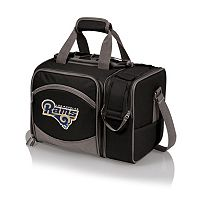 Picnic Time Los Angeles Rams Malibu Insulated Picnic Cooler Tote
