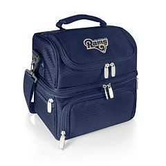 Picnic Time Los Angeles Rams Pranzo 7-Piece Insulated Cooler Lunch Tote Set