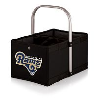 Picnic Time Los Angeles Rams Urban Folding Picnic Basket